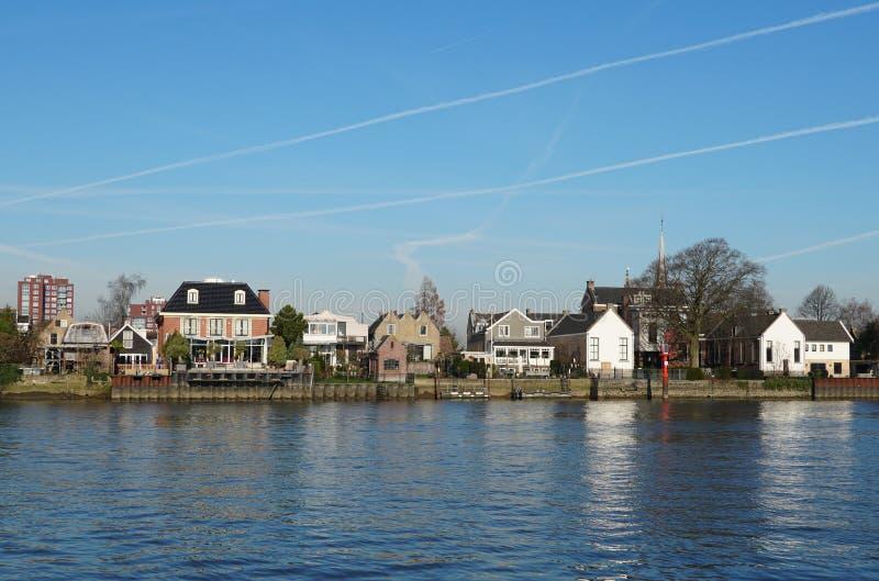 艾瑟尔河畔卡佩勒,荷兰 免版税图库摄影