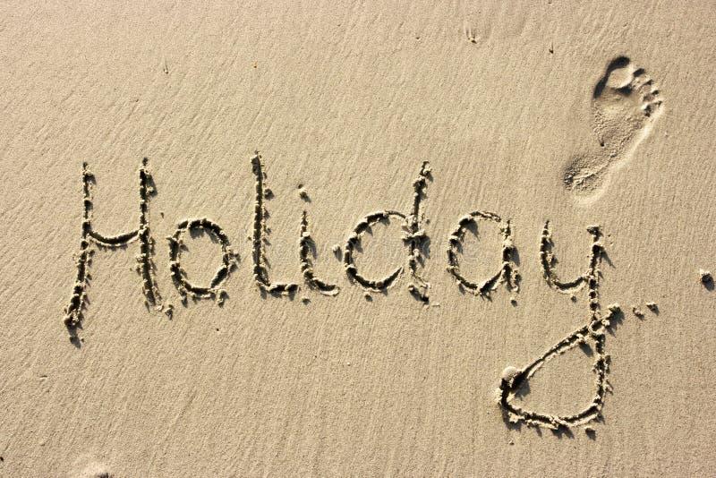 节假日沙子 库存图片