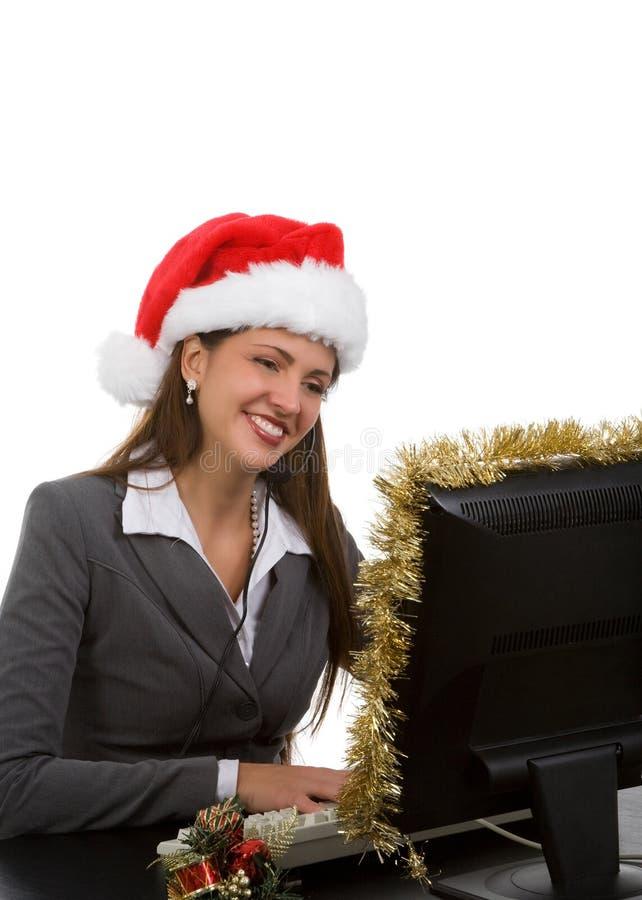 节假日销售额技术支持 免版税库存照片