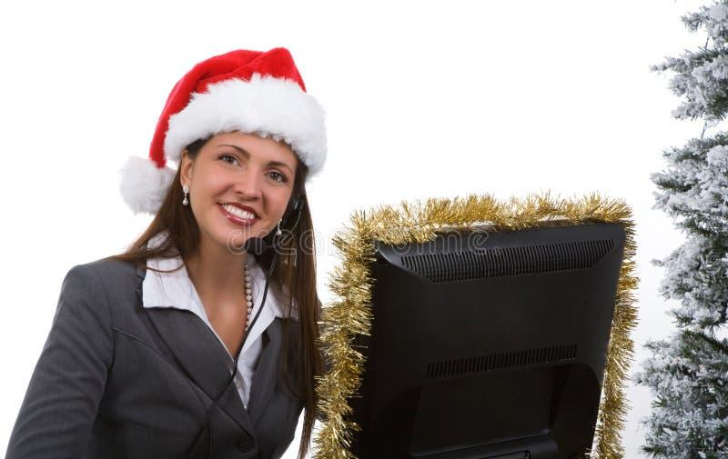 节假日销售额技术支持 库存照片