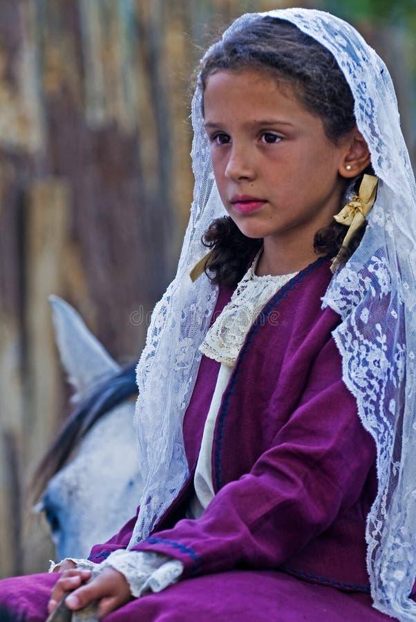 节日印第安人混血儿 库存照片