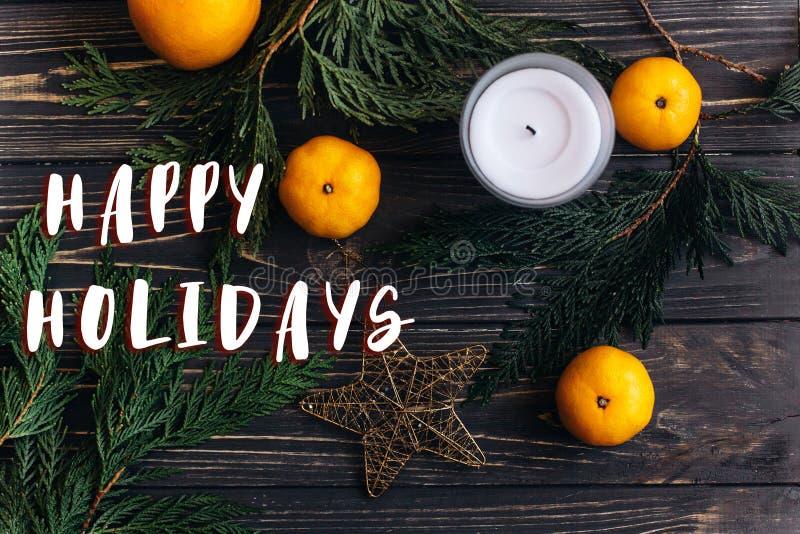 节日快乐发短信给在圣诞节舱内甲板位置墙纸的标志与gr 库存图片