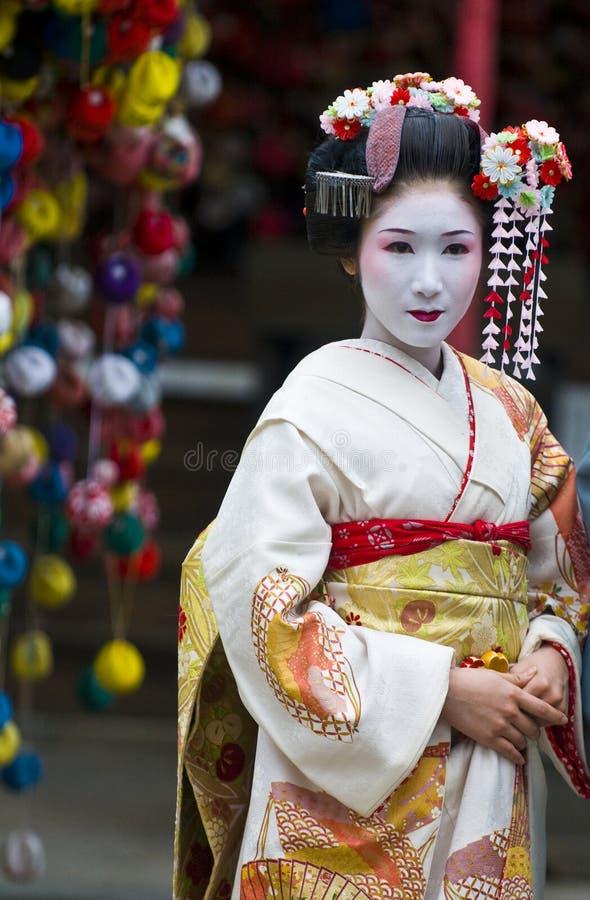 节日jidai matsuri 免版税图库摄影