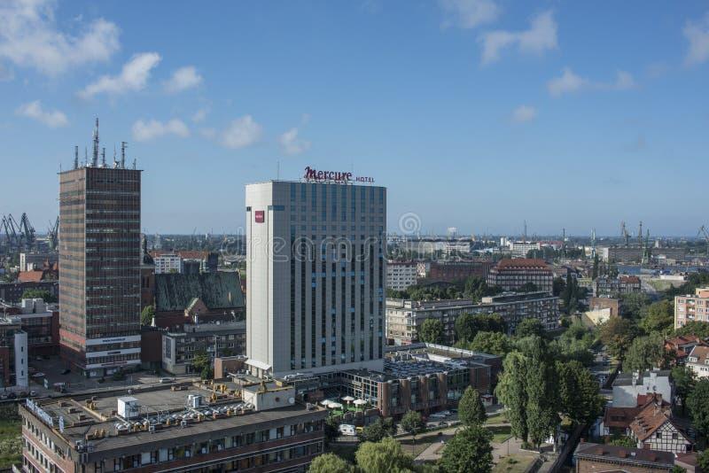 节略从格但斯克波兰欧洲上 库存照片