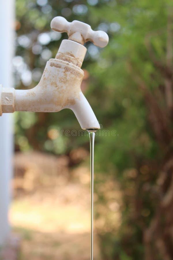 节约水 免版税库存照片