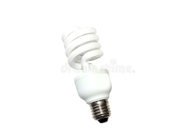 节能电灯泡或地球 免版税库存照片