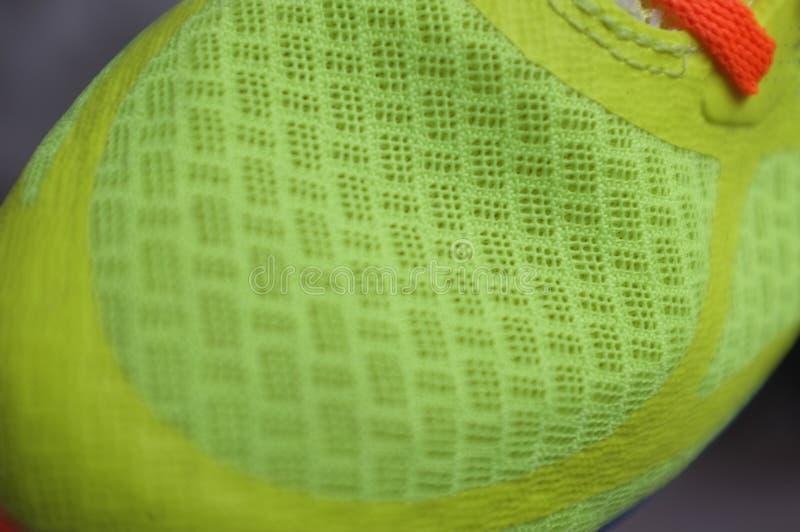 细节运动鞋或教练员 图库摄影