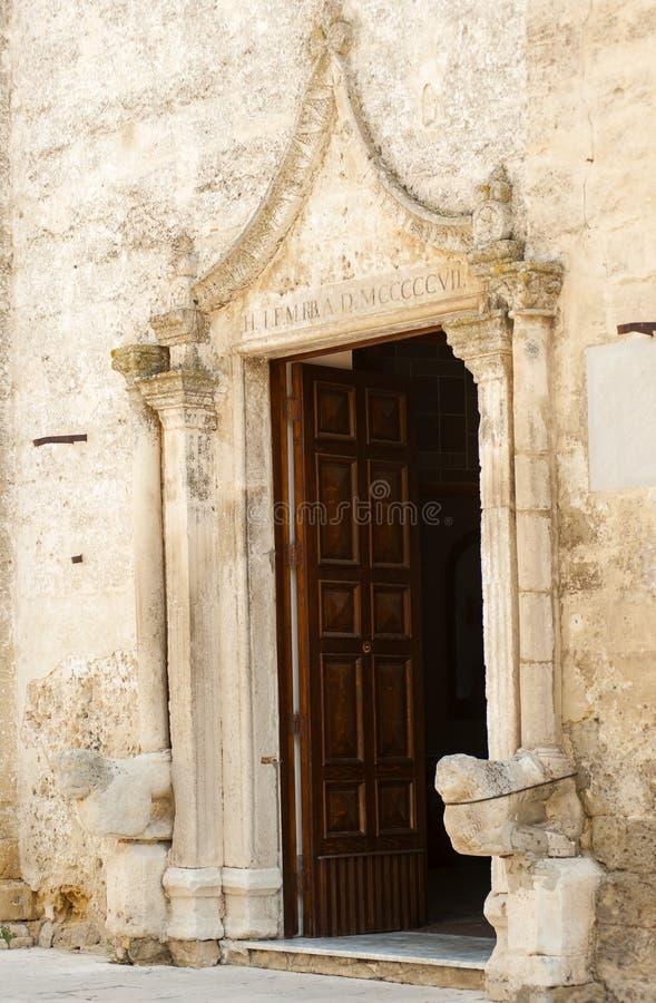 细节门大门主教堂 免版税库存照片