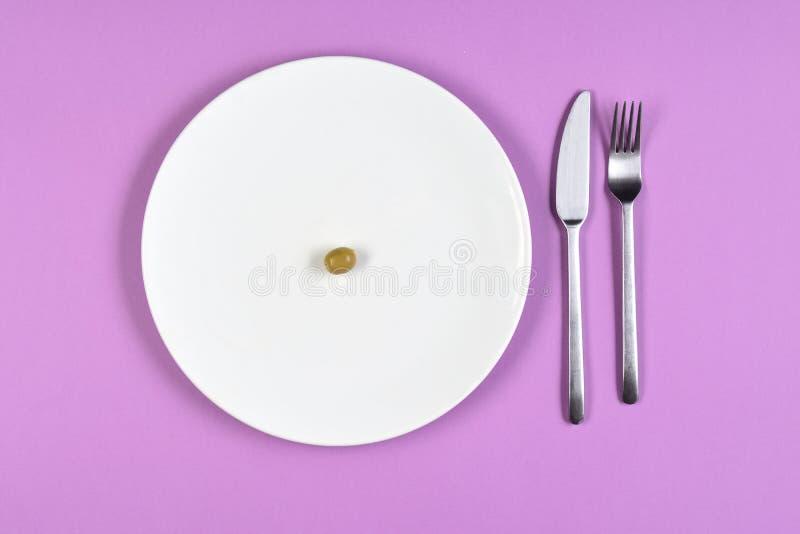 节食用橄榄 库存照片