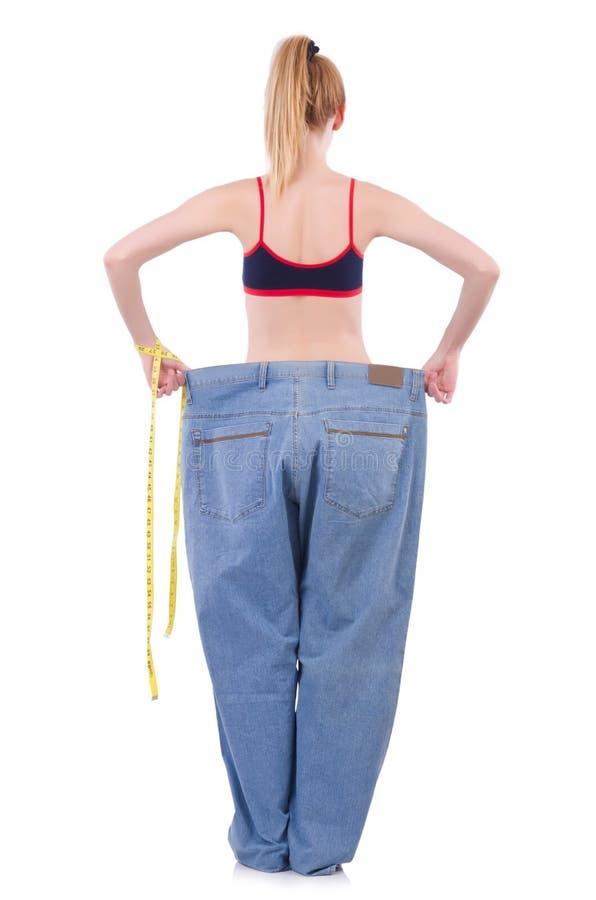 节食的概念 库存图片