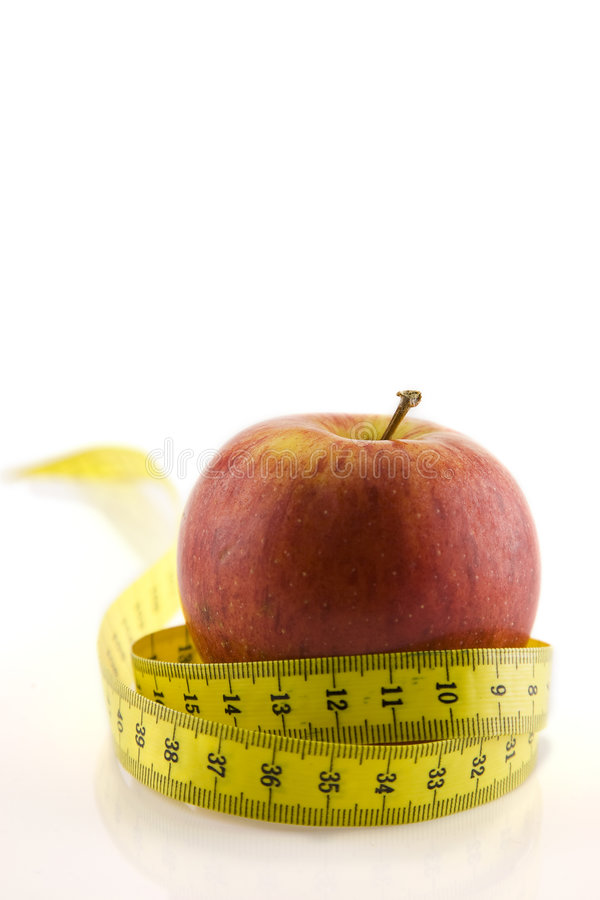 节食的肥胖食物低 图库摄影