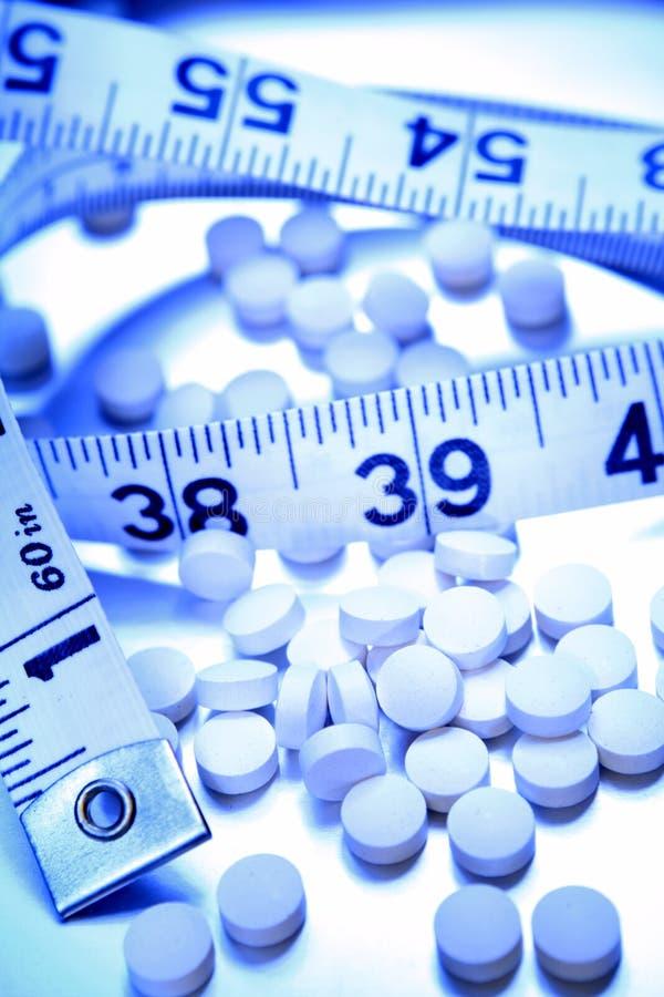 节食药片 免版税库存照片
