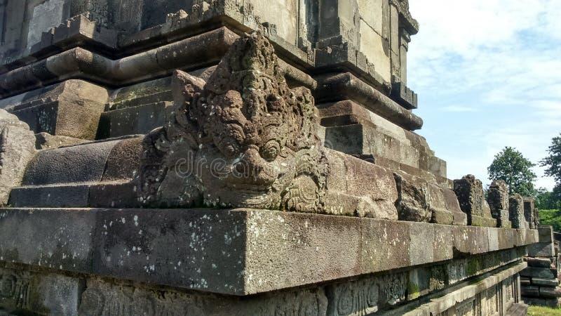 细节巴兰班南寺庙 库存图片
