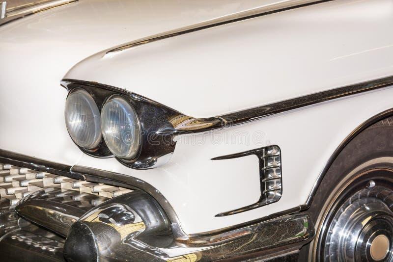 细节经典汽车美国汽车 免版税库存照片