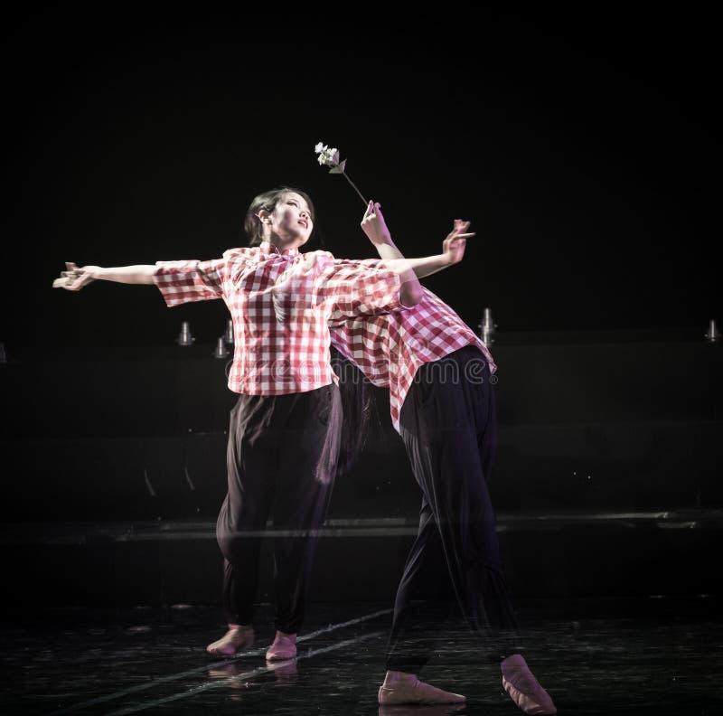 芒廷村2丁香舞蹈戏曲的妇女老师 免版税库存照片