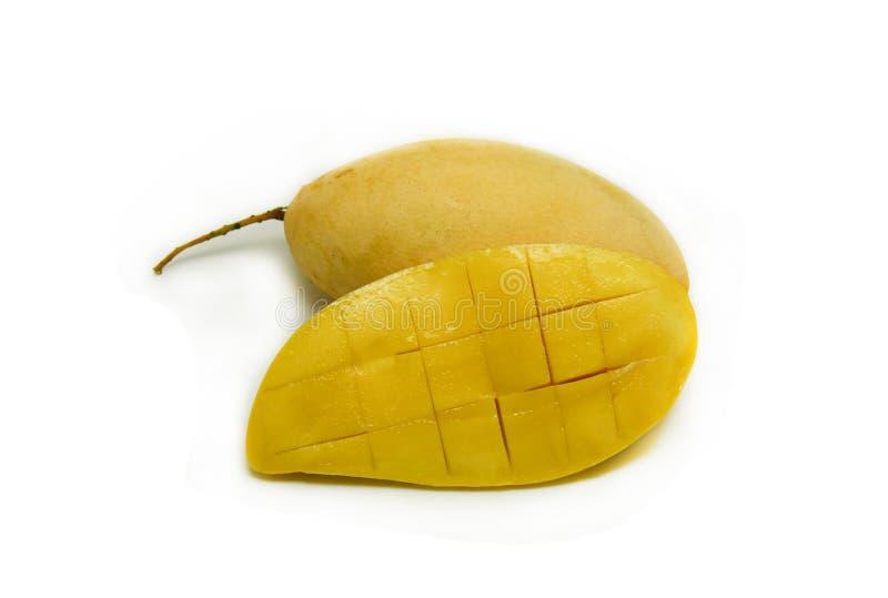 芒果裂口 免版税库存图片