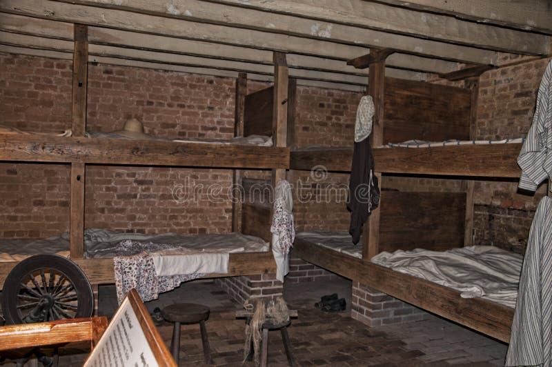芒特弗农乔治Washinton的家波托马克河的银行的在美国 免版税库存照片