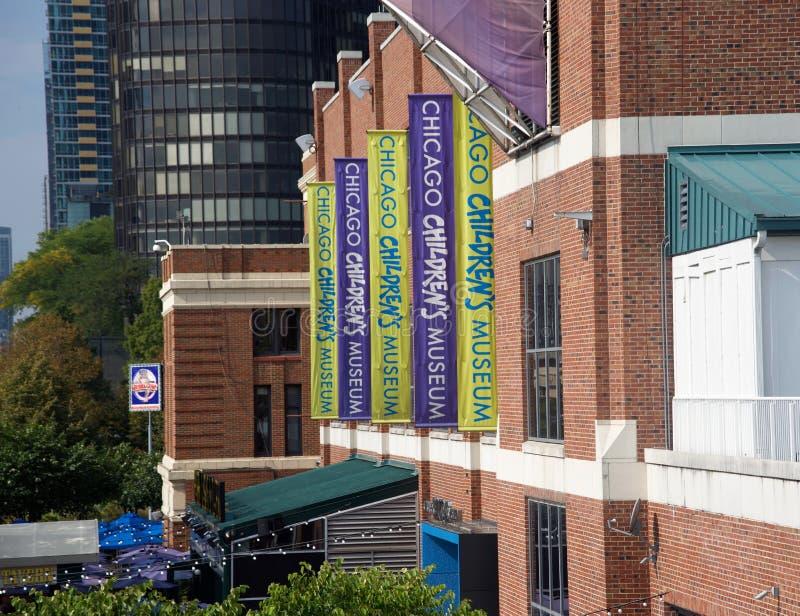 芝加哥儿童的博物馆外部,芝加哥,伊利诺伊 免版税库存图片