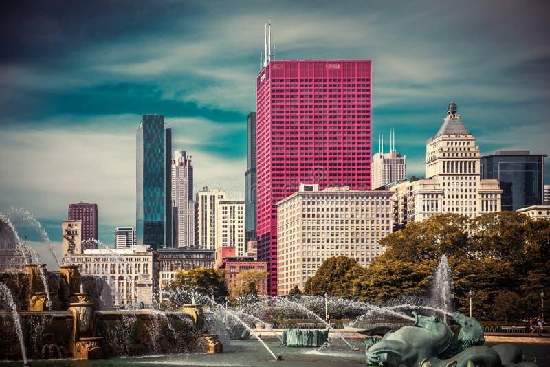 芝加哥公园 图库摄影