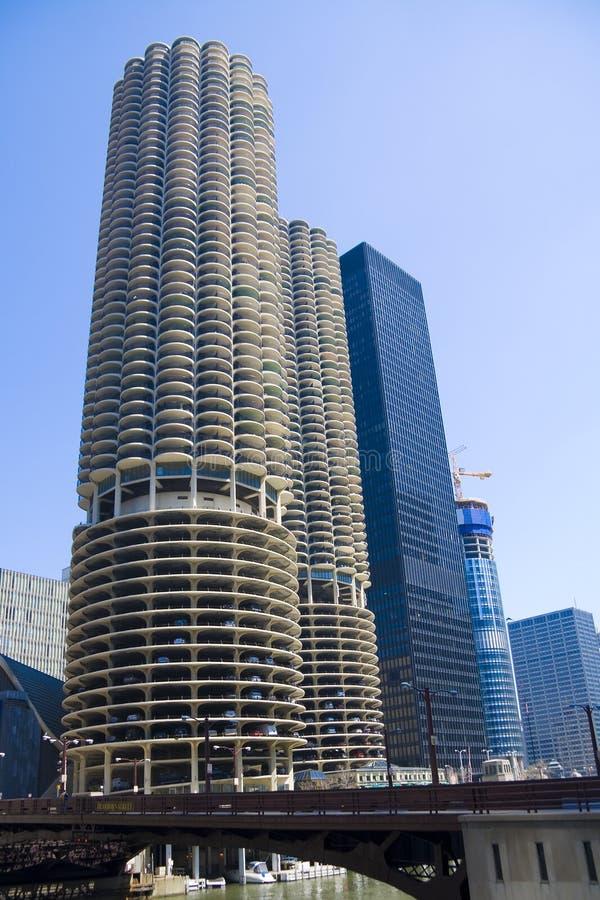 芝加哥公寓 图库摄影