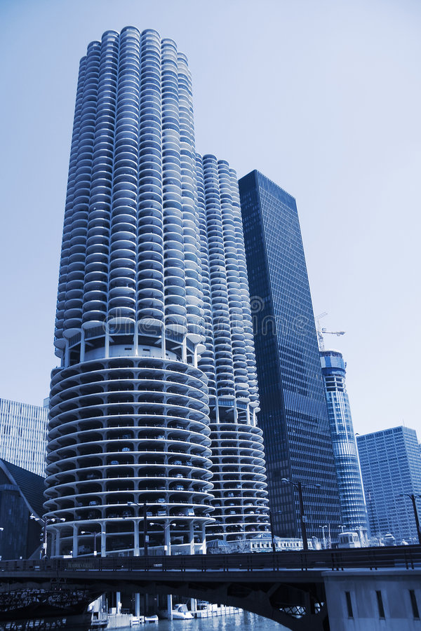芝加哥公寓 库存照片