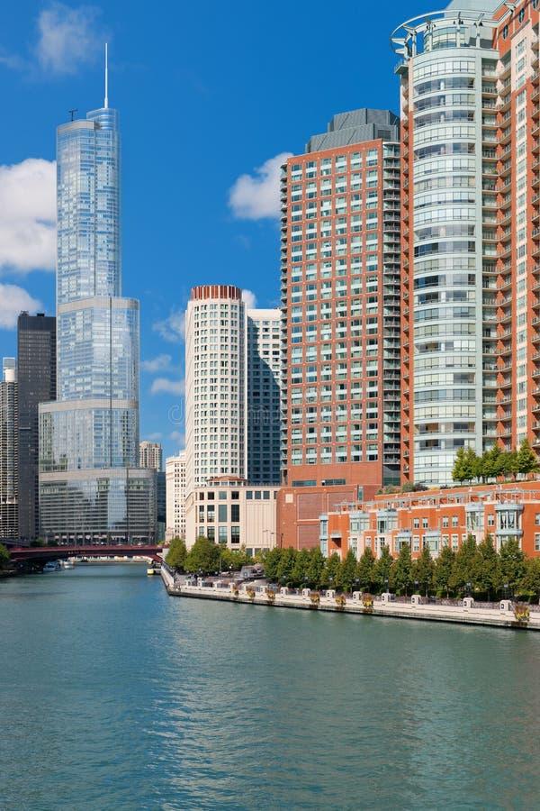 芝加哥在9月 库存图片
