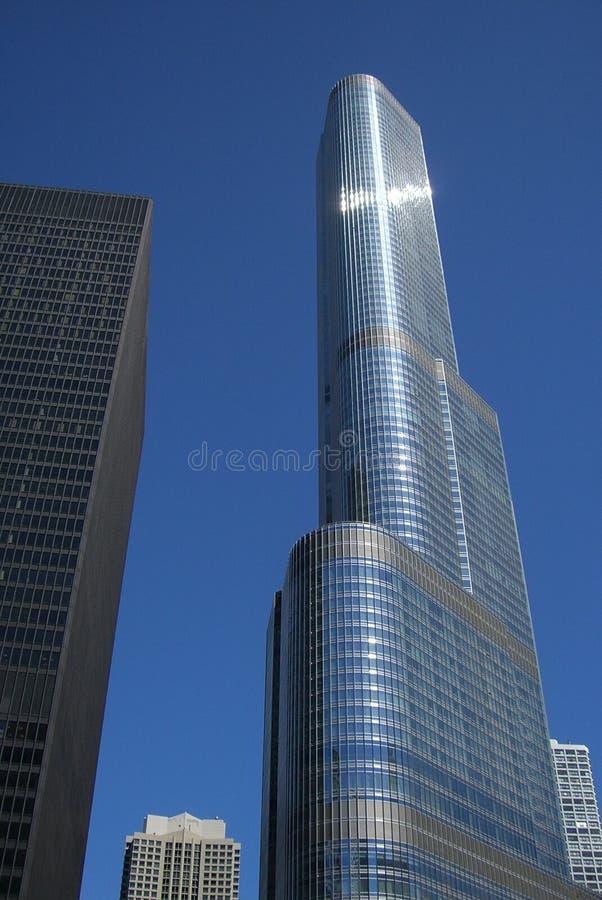 芝加哥塔王牌 图库摄影片