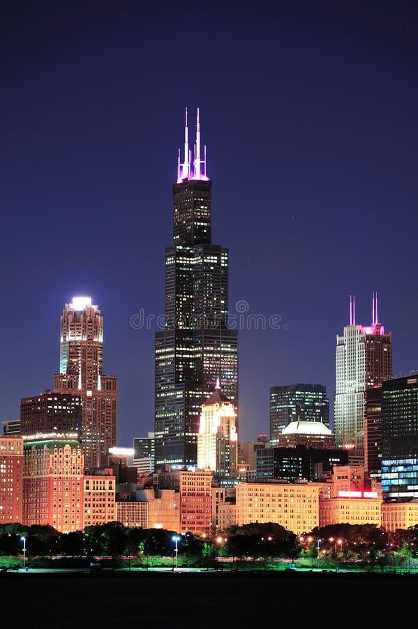 芝加哥塔willis 免版税库存图片