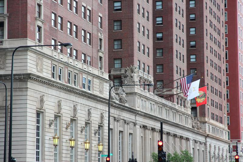 芝加哥希尔顿 免版税库存图片