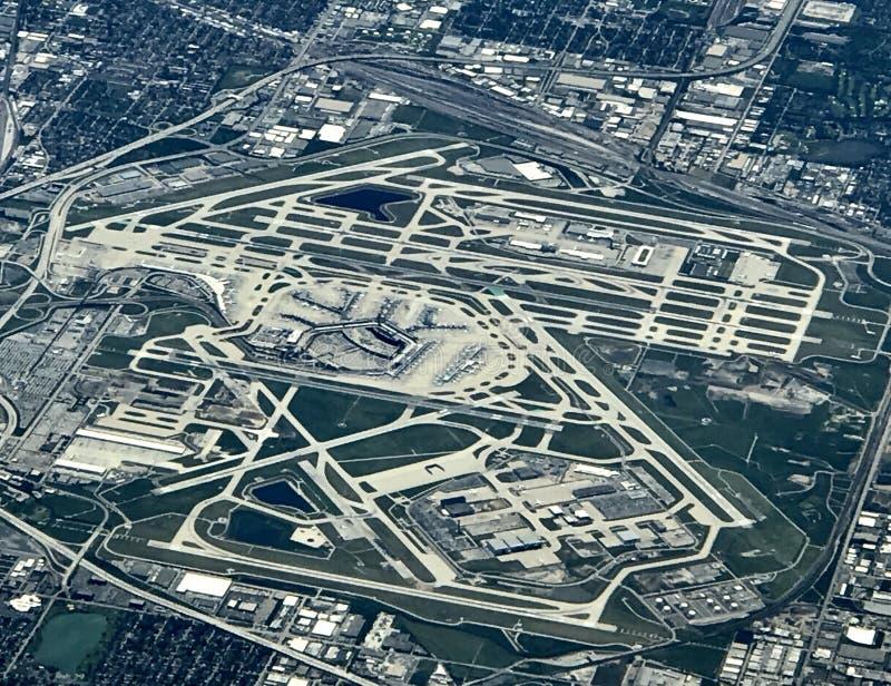 芝加哥机场 图库摄影