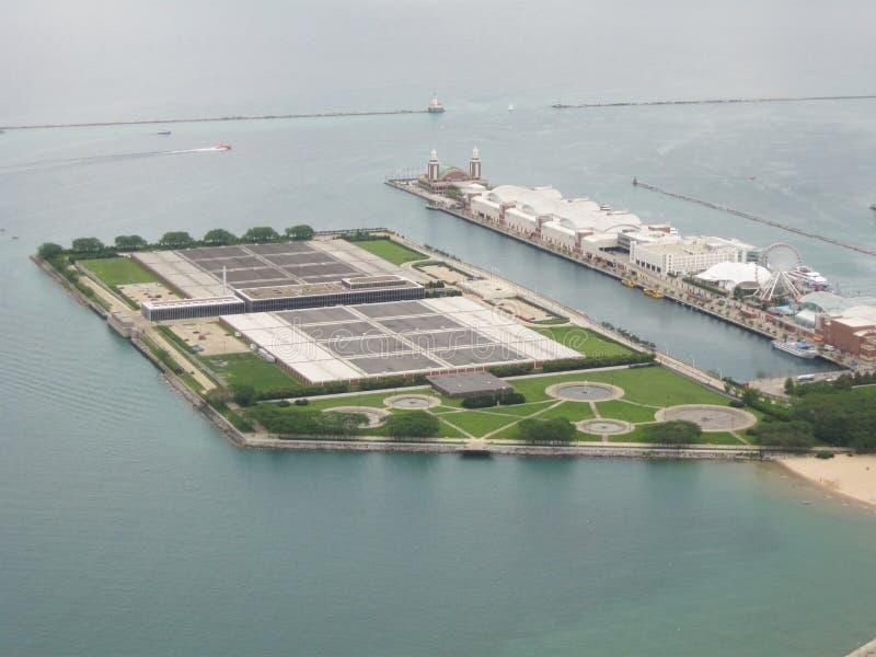 芝加哥海岸线 图库摄影