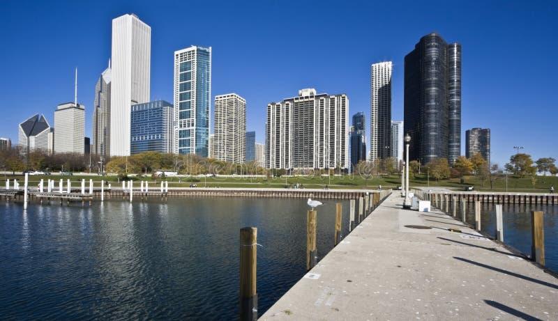 芝加哥湖 免版税库存照片