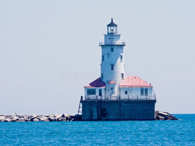 芝加哥灯塔 免版税库存照片