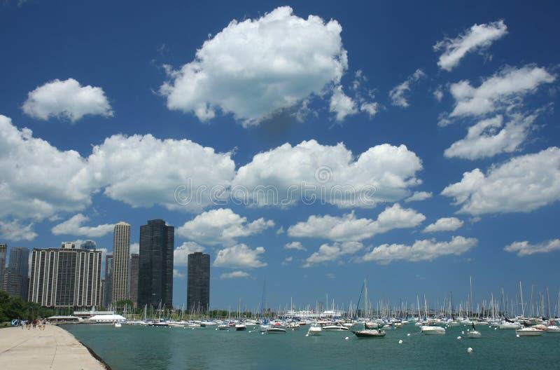 芝加哥码头 免版税库存图片