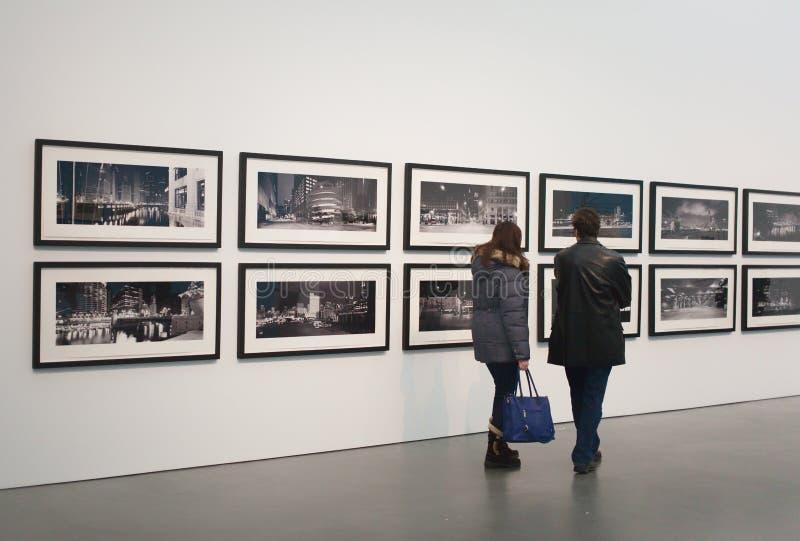 芝加哥美术馆 库存图片