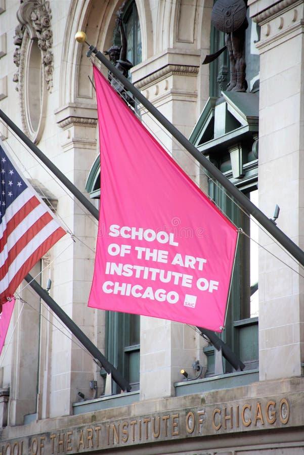 芝加哥艺术学院,伊利诺伊 免版税库存照片