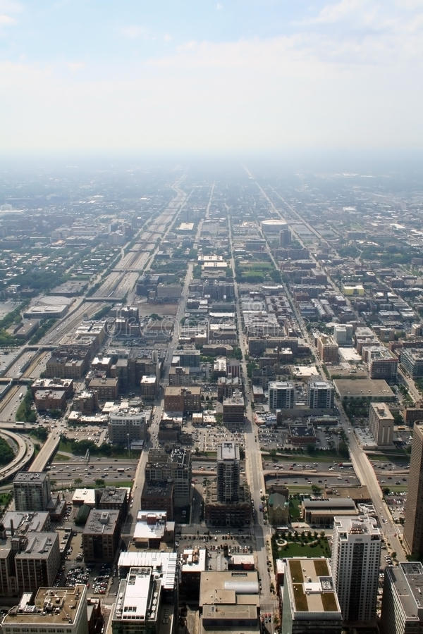 芝加哥视图 库存图片