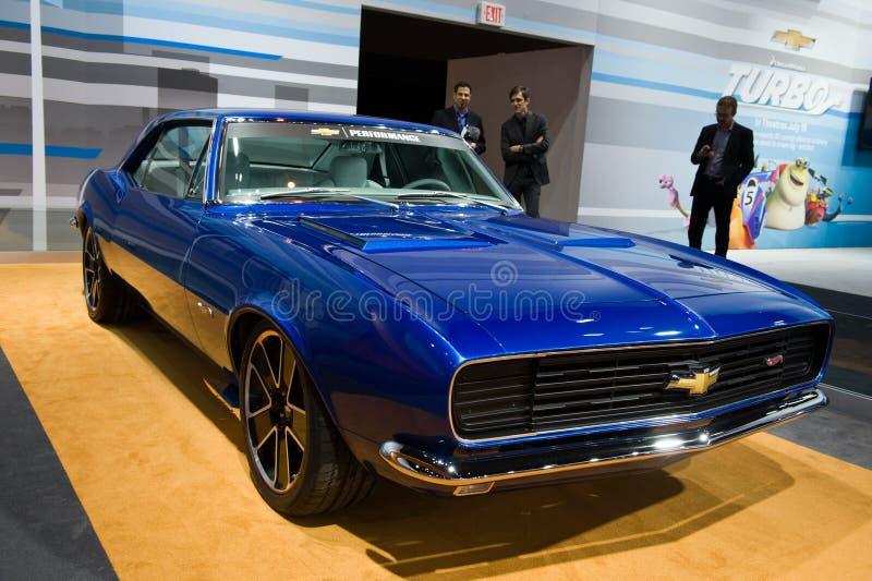 Download 在芝加哥车展的Chevy 编辑类图片. 图片 包括有 automatics, 经典, 亚马逊, 蓝色, 运输 - 30329370