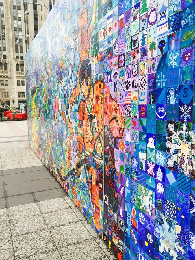 Download 芝加哥 编辑类照片. 图片 包括有 马赛克, 五颜六色, 芝加哥, 伊利诺伊, 墙壁 - 62526126