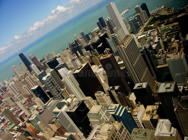 芝加哥lakeview 库存照片