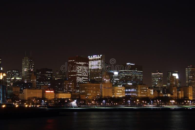 芝加哥skyline3 免版税库存图片