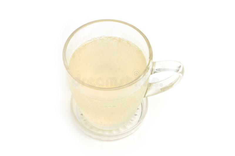 芦荟维拉汁液 免版税库存照片