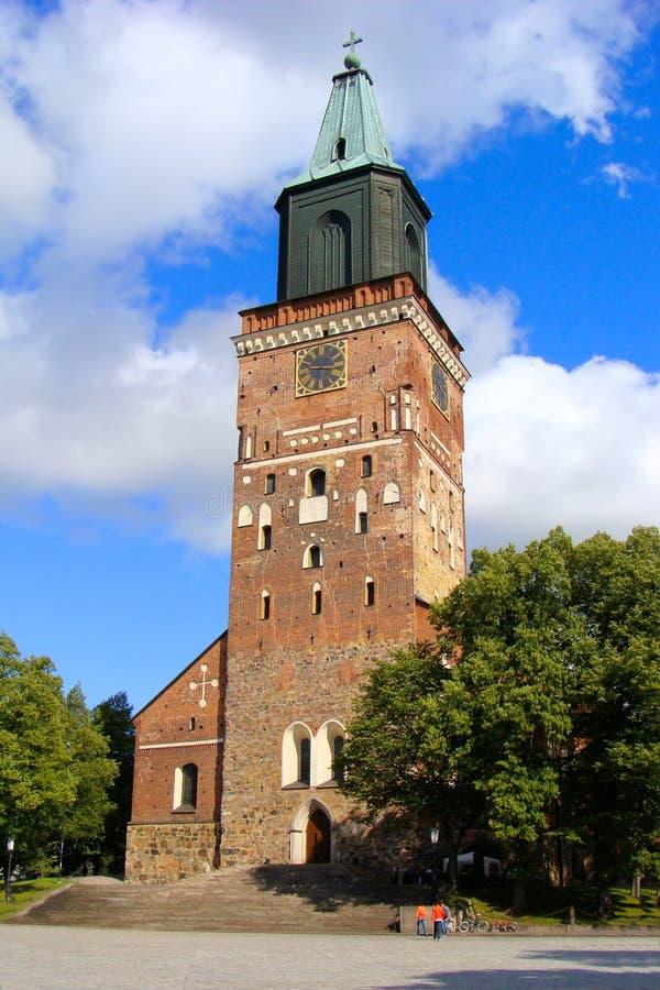 芬兰土尔库 免版税库存图片