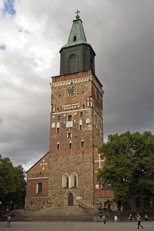 芬兰土尔库 库存图片