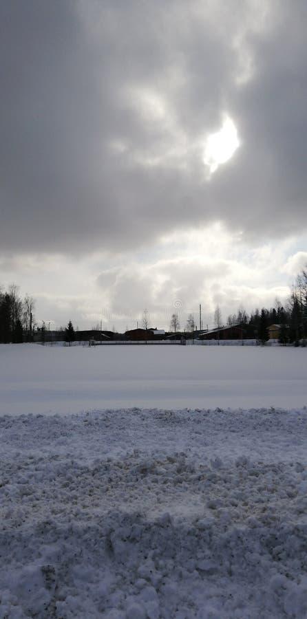 芬兰在春天 免版税图库摄影