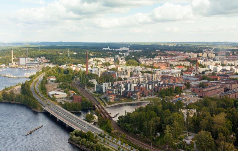 芬兰坦佩雷 免版税库存图片