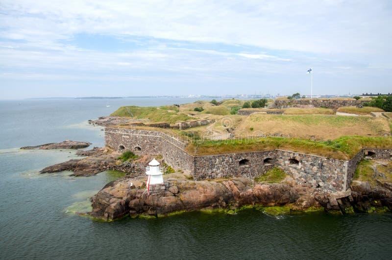 芬兰堡堡垒  免版税库存照片