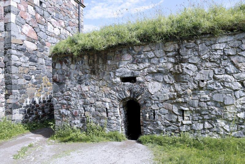 芬兰堡海堡垒  库存图片