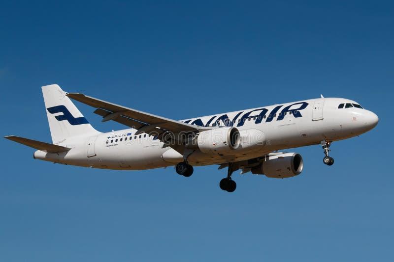 芬兰航空公司 免版税库存照片