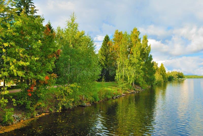 芬兰imatra 库存照片